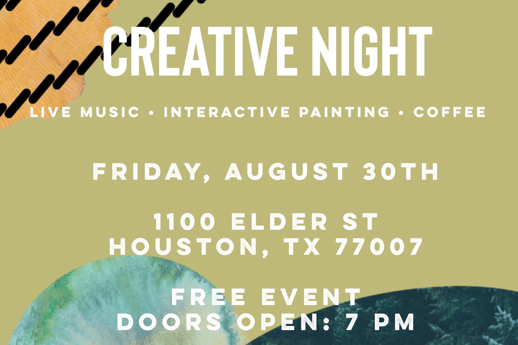 Free Houston Events August 3 2020.Ecclesia Houston Events