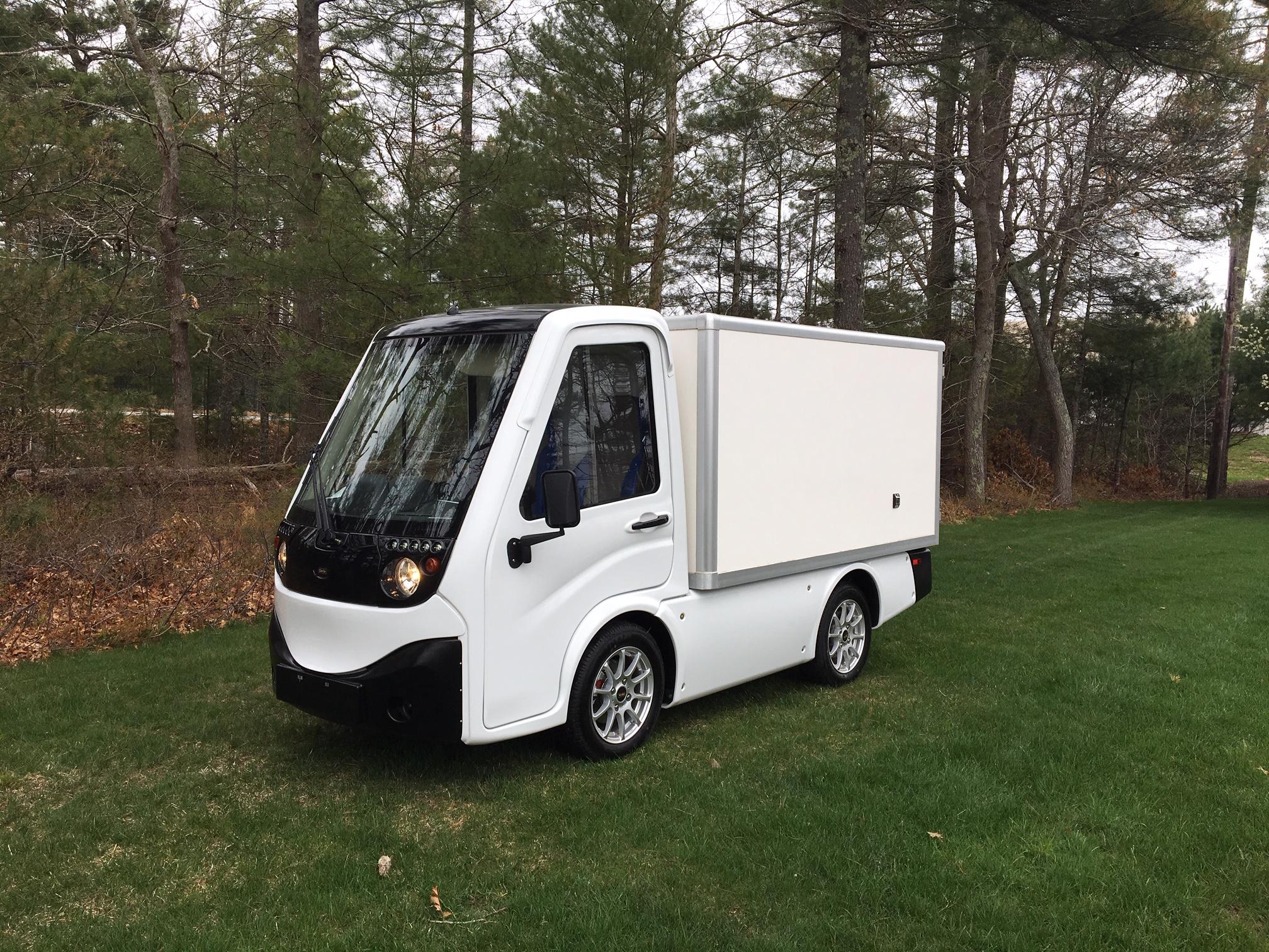 Street Legal Electric Carts >> New 2019 Street Legal Electric Club Car 411 Lsv Van Box Cce Golf Cars