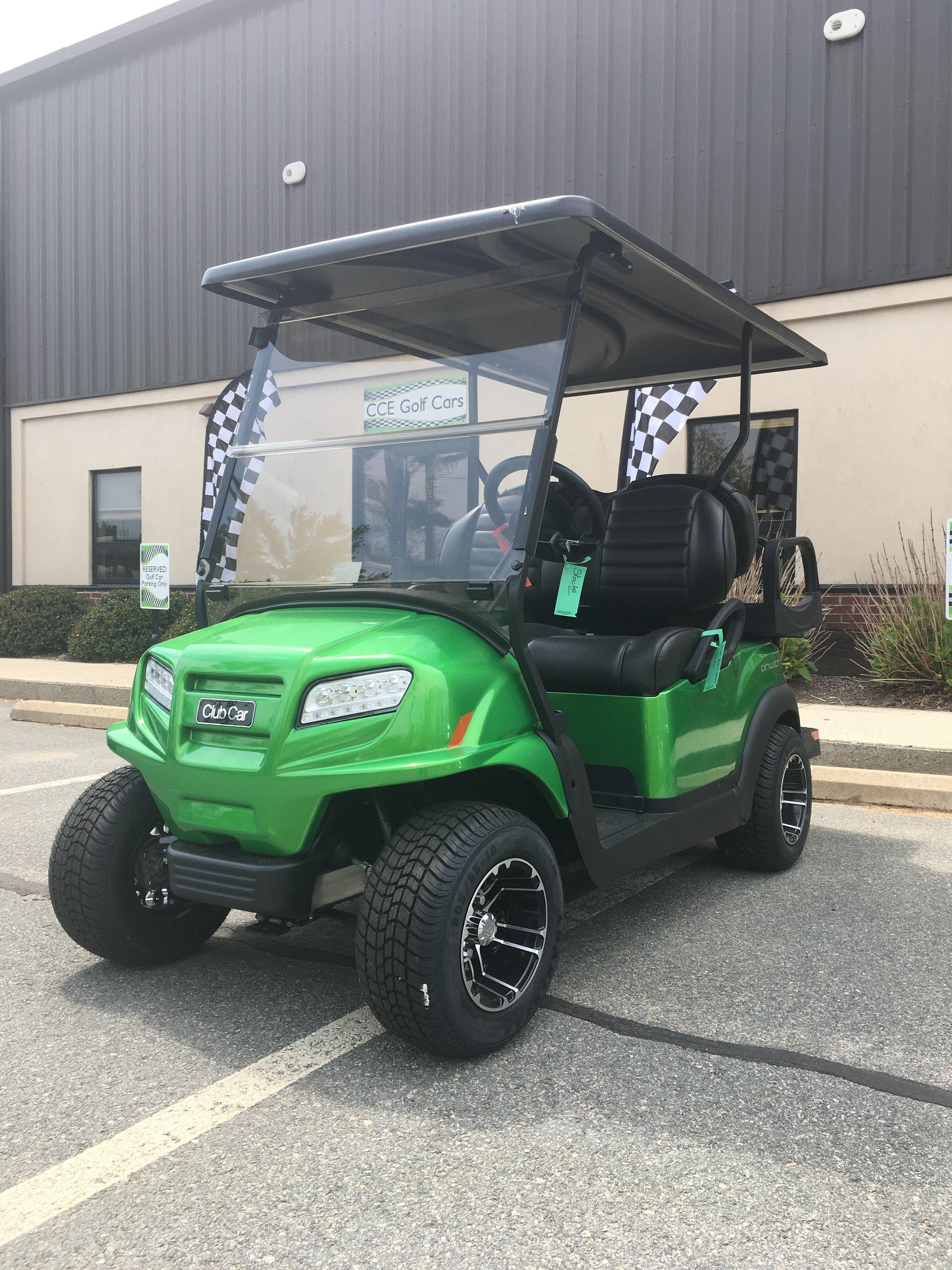 New 2019 Gas Synergy Green 4-Passenger Club Car Onward — CCE Golf Cars