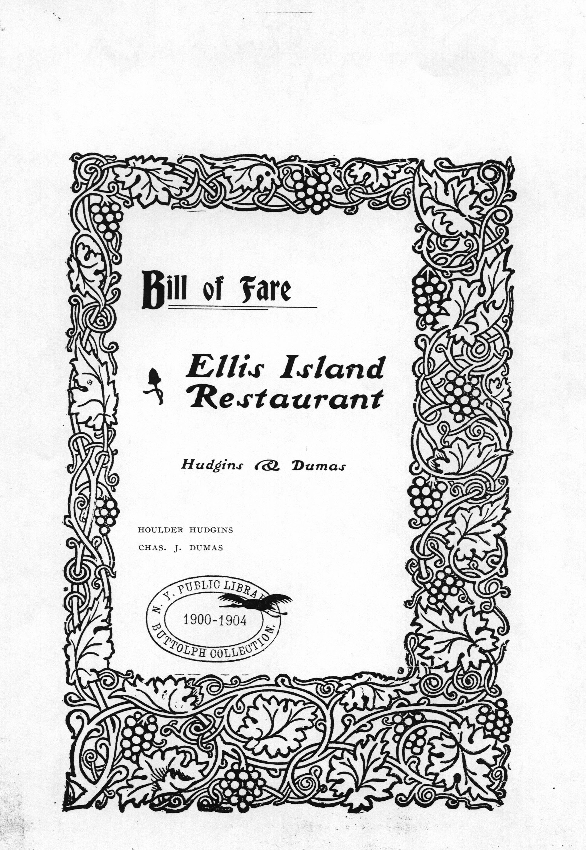 20120723-Ellis Island Restaurant Bill of fare.jpg