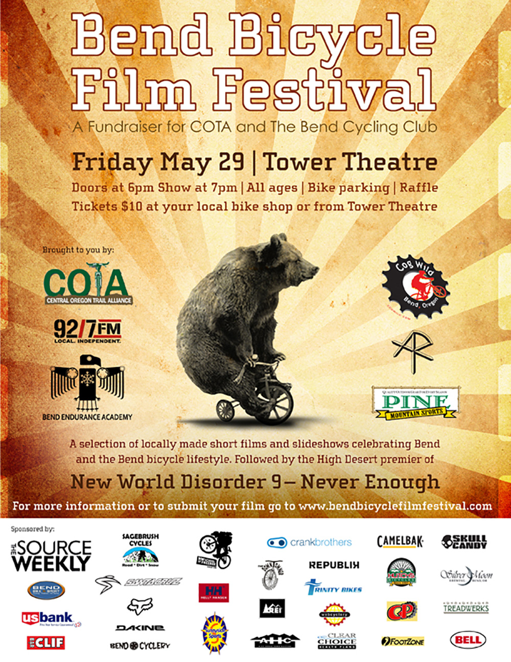 Bend Bicycle Film Festival