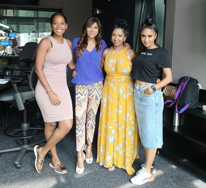 Nneka Elliott, Meera Estrada, Jennifer Singh (me!), The Sandy Lion