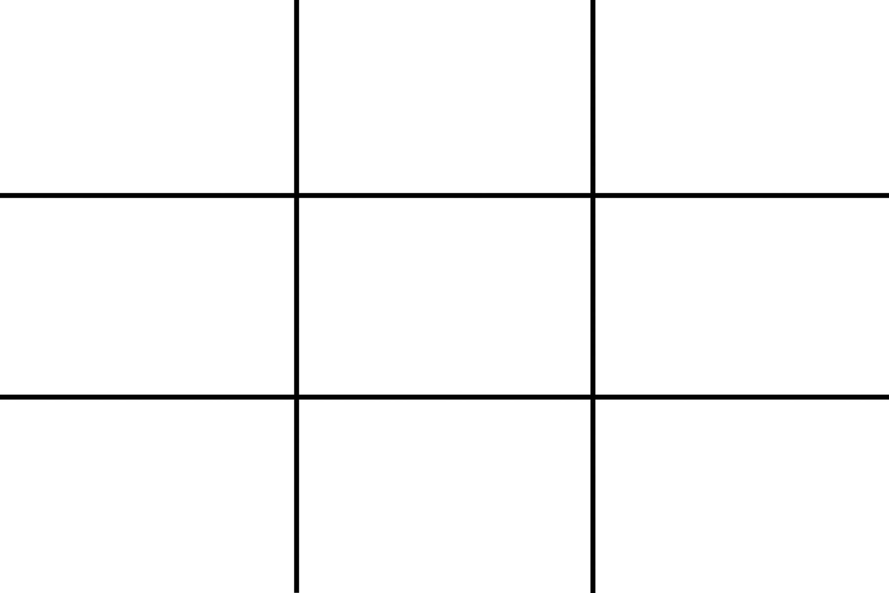 rule-of-thirds grid