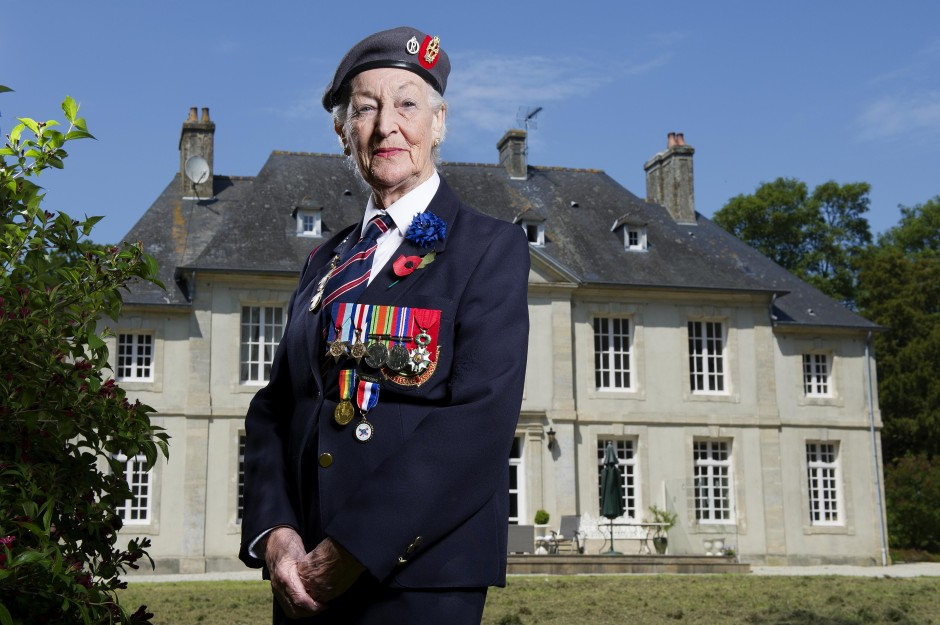 Vera Hay, by Robin Savage Vera was a sister with the Queen Alexandra's Imperial Military Nursing Service. She landed on Gold Beach about a week after D-Day. She was one of the first British nurses to land at Normandy. Once in position, she and her team would treat around 200 casualties each day. Sleep was snatched and came in a ditch until tents reached the field hospital at Chateau de Beaussy.