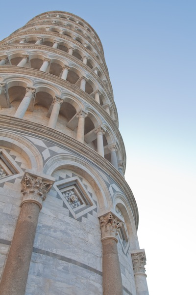 07:00 at the Bell Tower of Pisa's Duomo