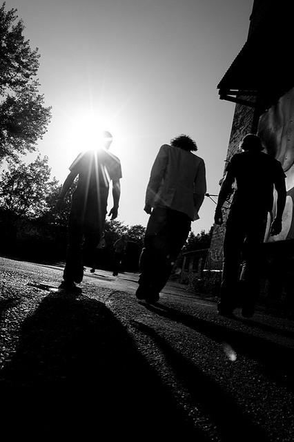 Kortez ride off into the sunset (photo by Haje)