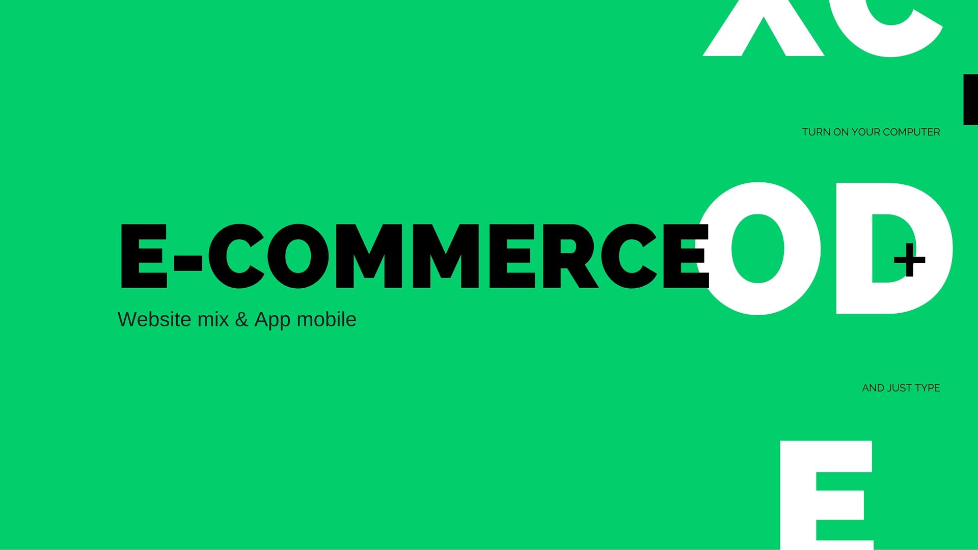 eccomerce website app ios