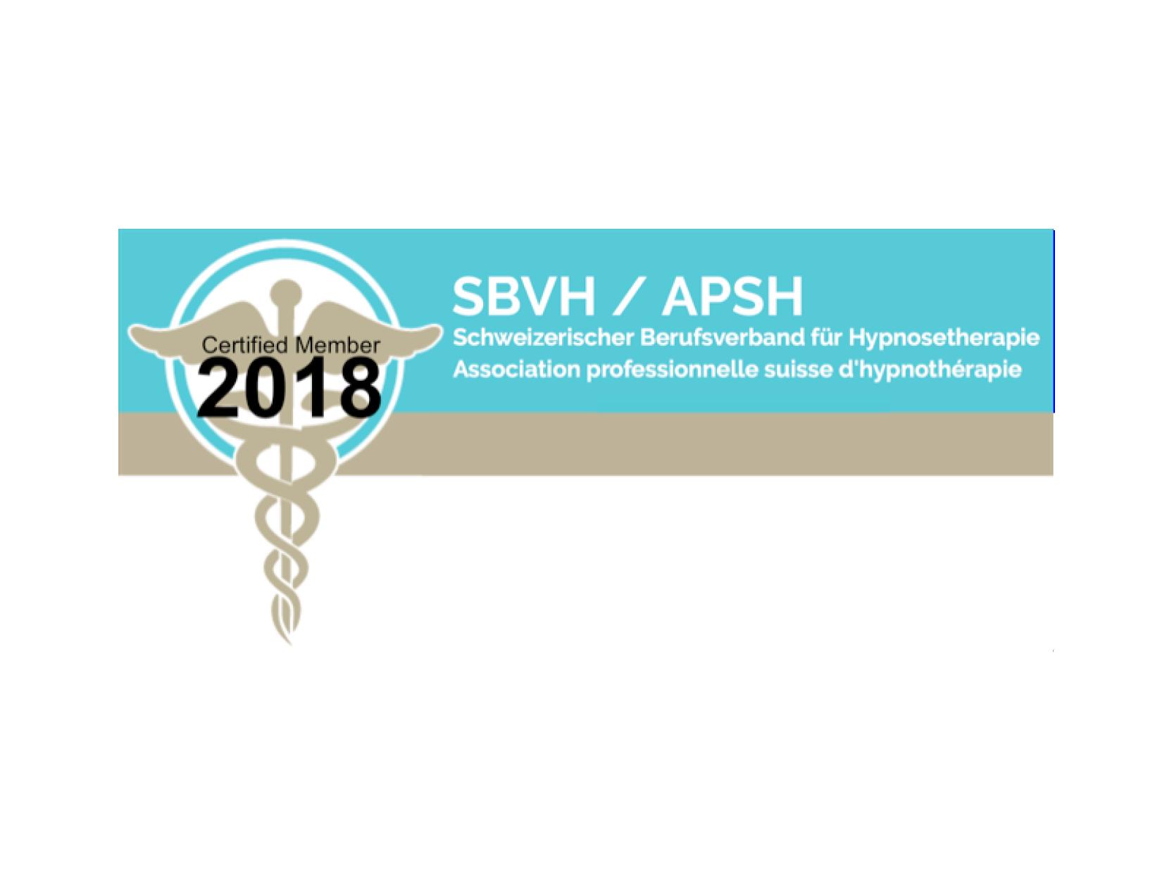 ASSOCIATION PROFESSIONNELLE SUISSE D'HYPOTHÉRAPIE - APSH - Le centre de formation MHP-Hypnose est accrédité et fait part des écoles recommandées par la SBVH.