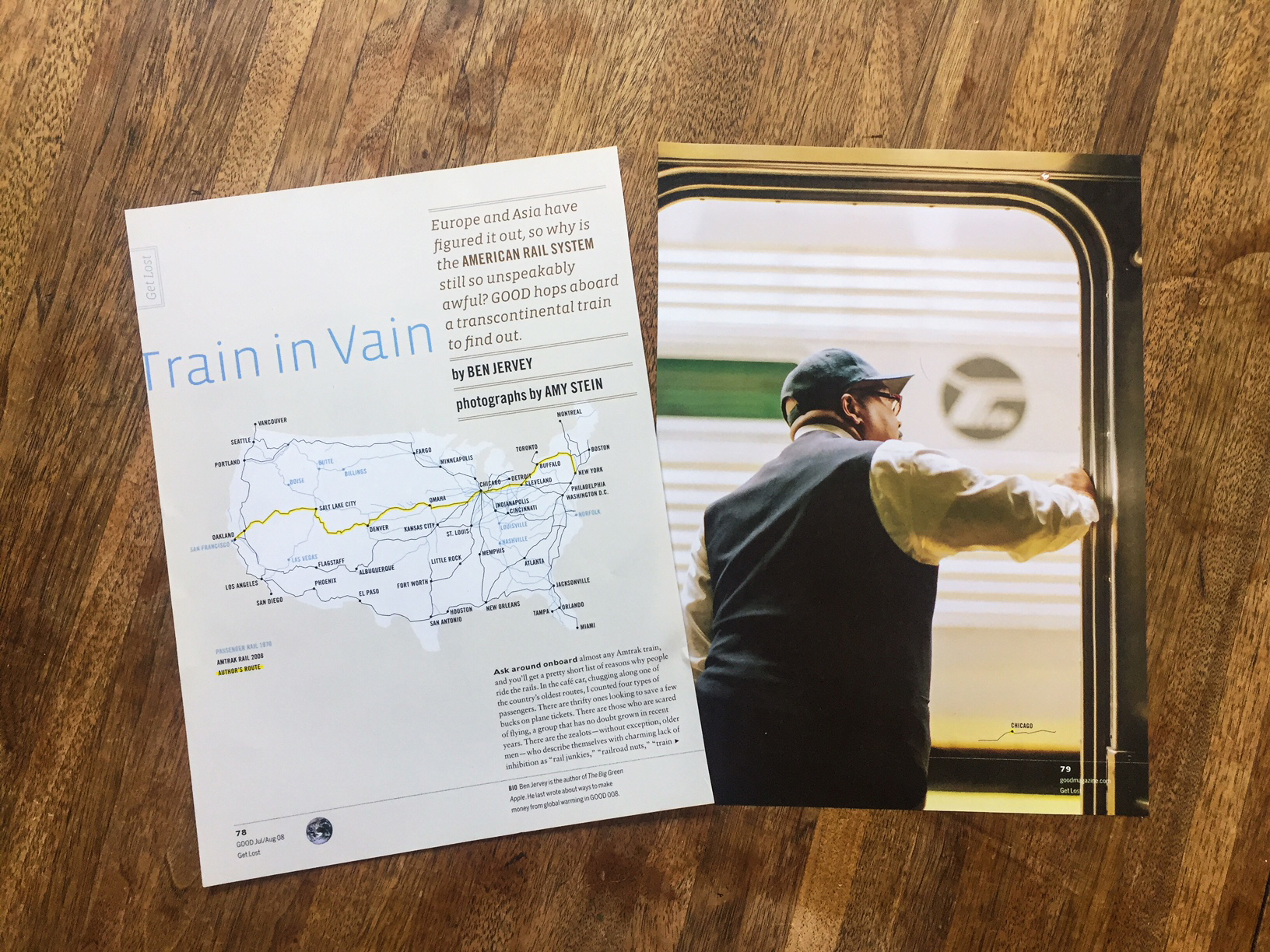 TRAIN IN VAIN // GOOD MAGAZINE