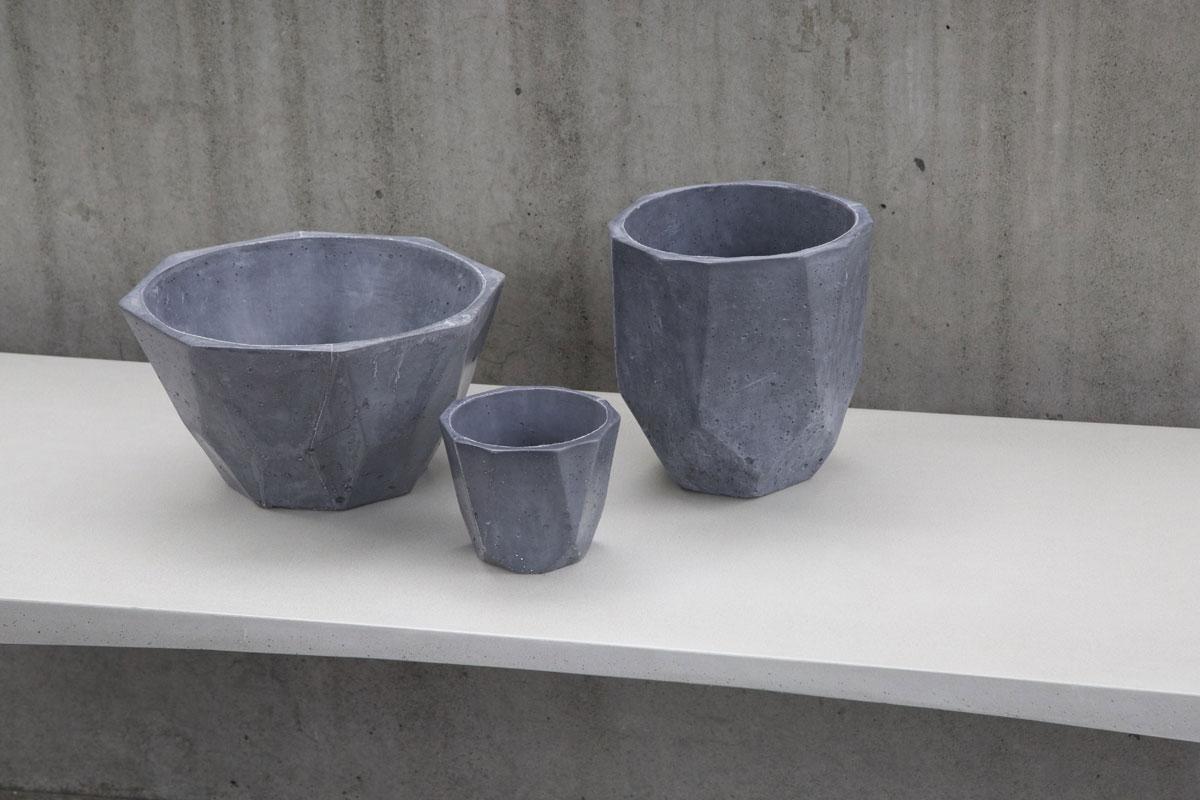 uhpc pots faceted series