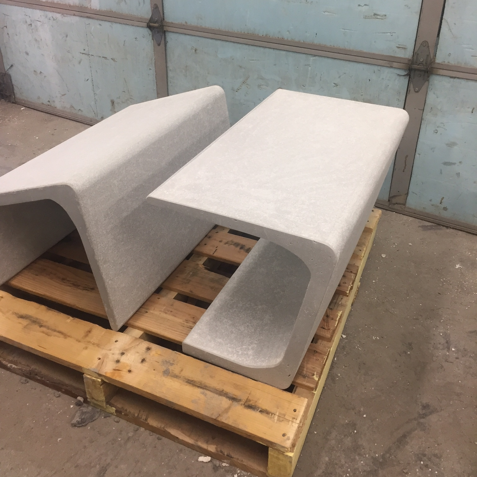 raw ductal bench castings