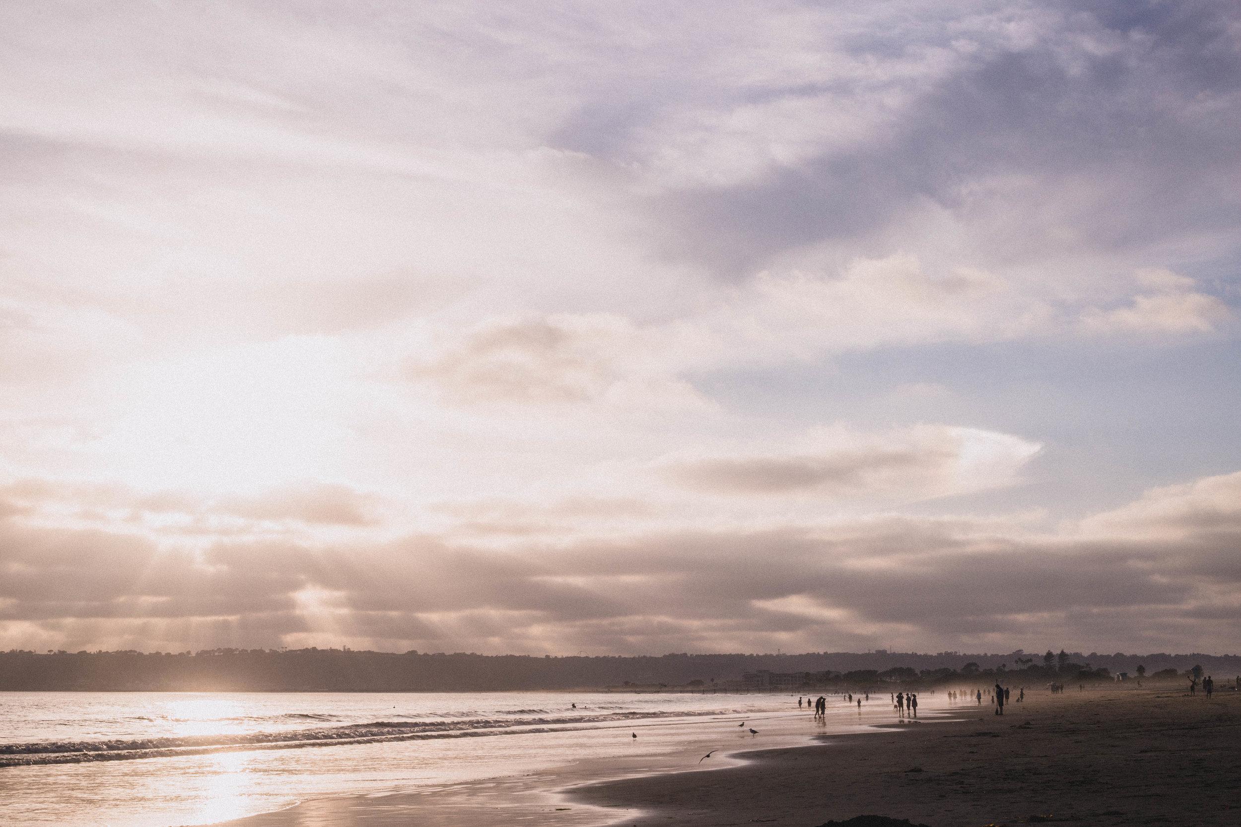 Coronado Beach at Sunset (San Diego city guide)