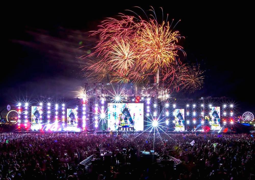 EDC Las Vegas // Bulletproof Stage