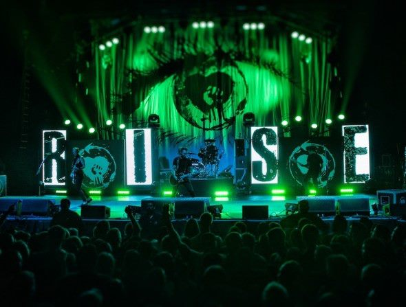 Rise Against // Stage Backdrop