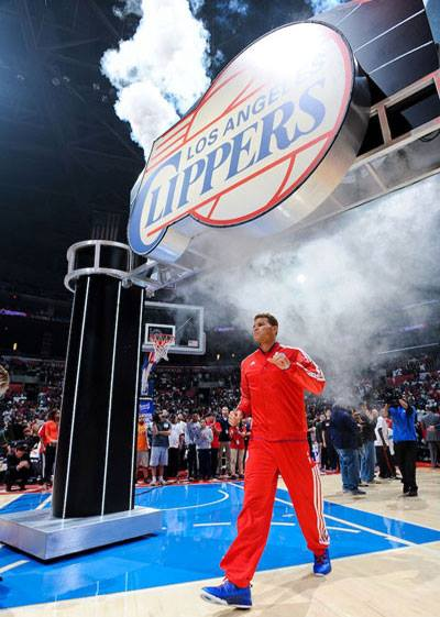 Los Angeles Clippers // Custom Arch Entry