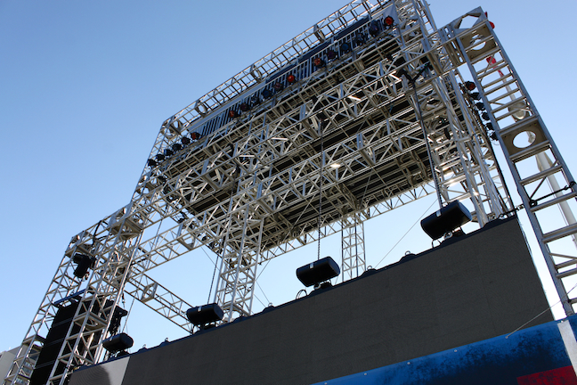 Dreamforce, Outdoor Video Structure