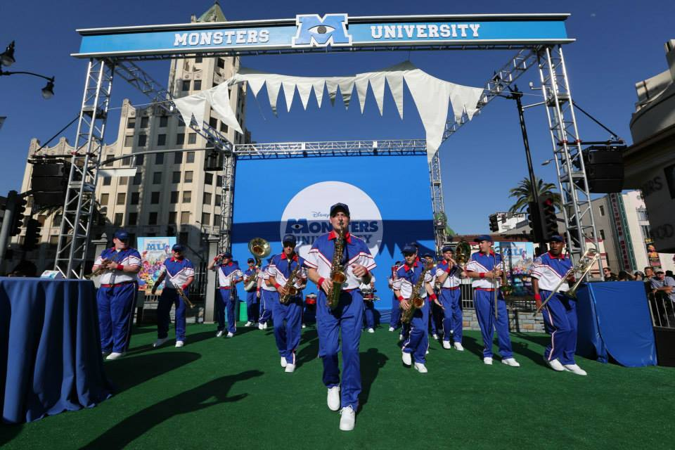 Monsters University Premiere Truss Structures and G-Blocks