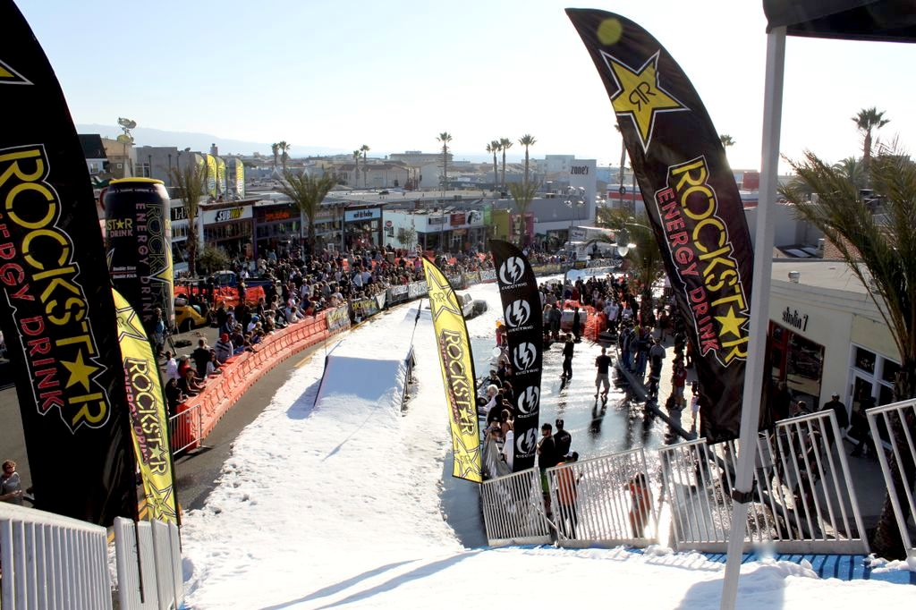 Snow Fest Staging and Ramp