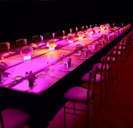 Plexi Table Display