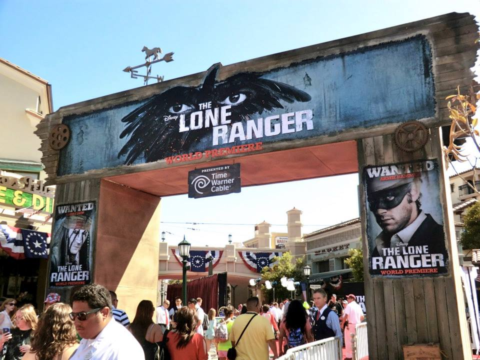 The Lone Ranger Premiers Structures
