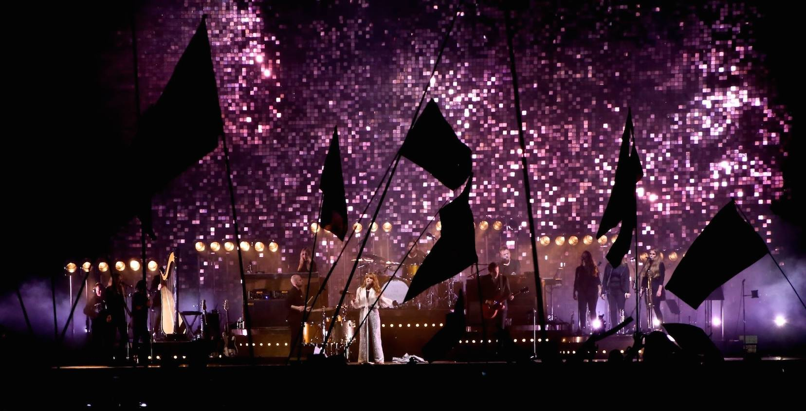 Florence and the Machine Touring Set // How Big. How Blue. How Beautiful Tour