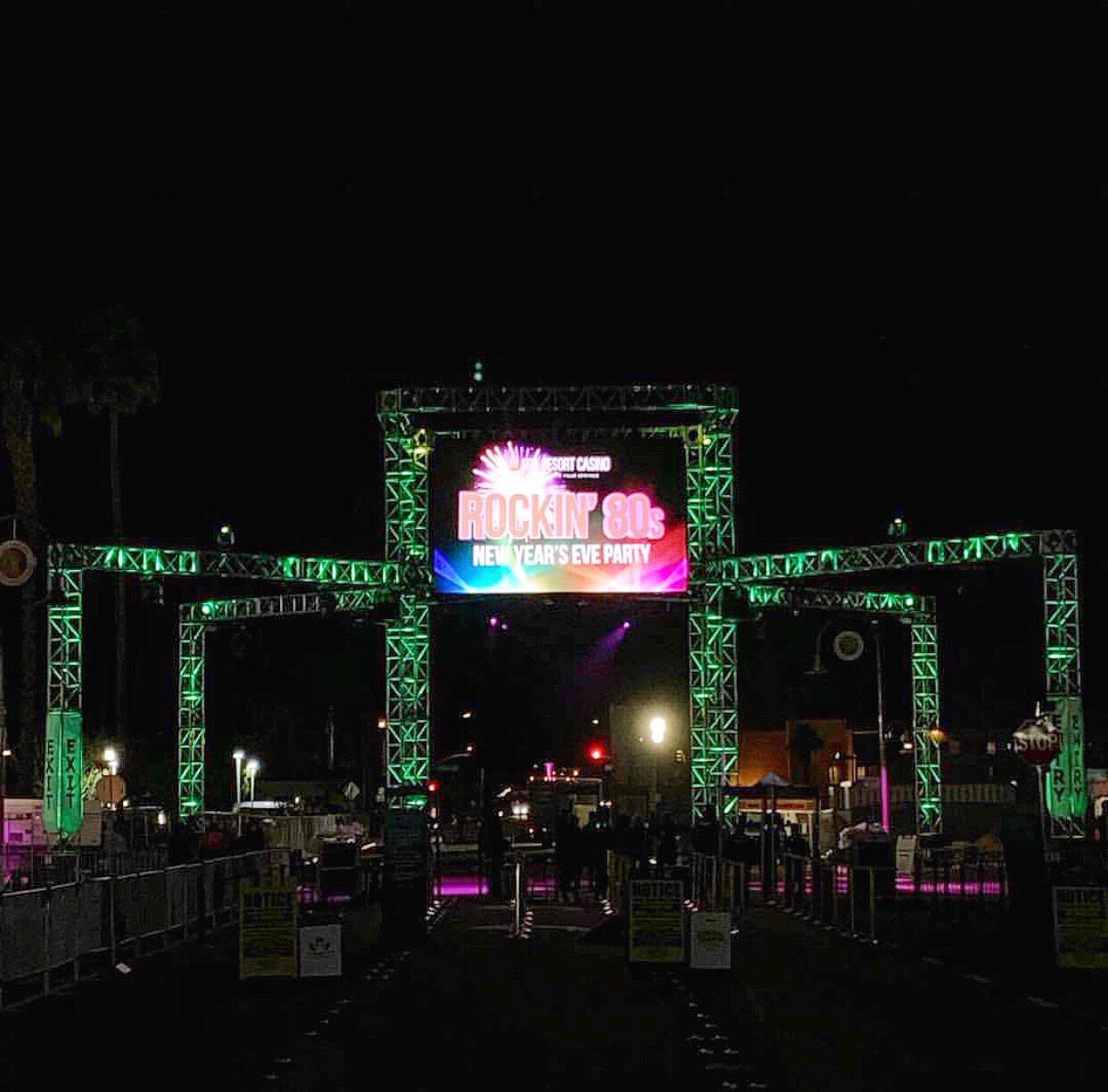 Downtown Palm Sprints NYE w/ DJ Dense & The Rockin' 80s Show @ Spa Resort Casino