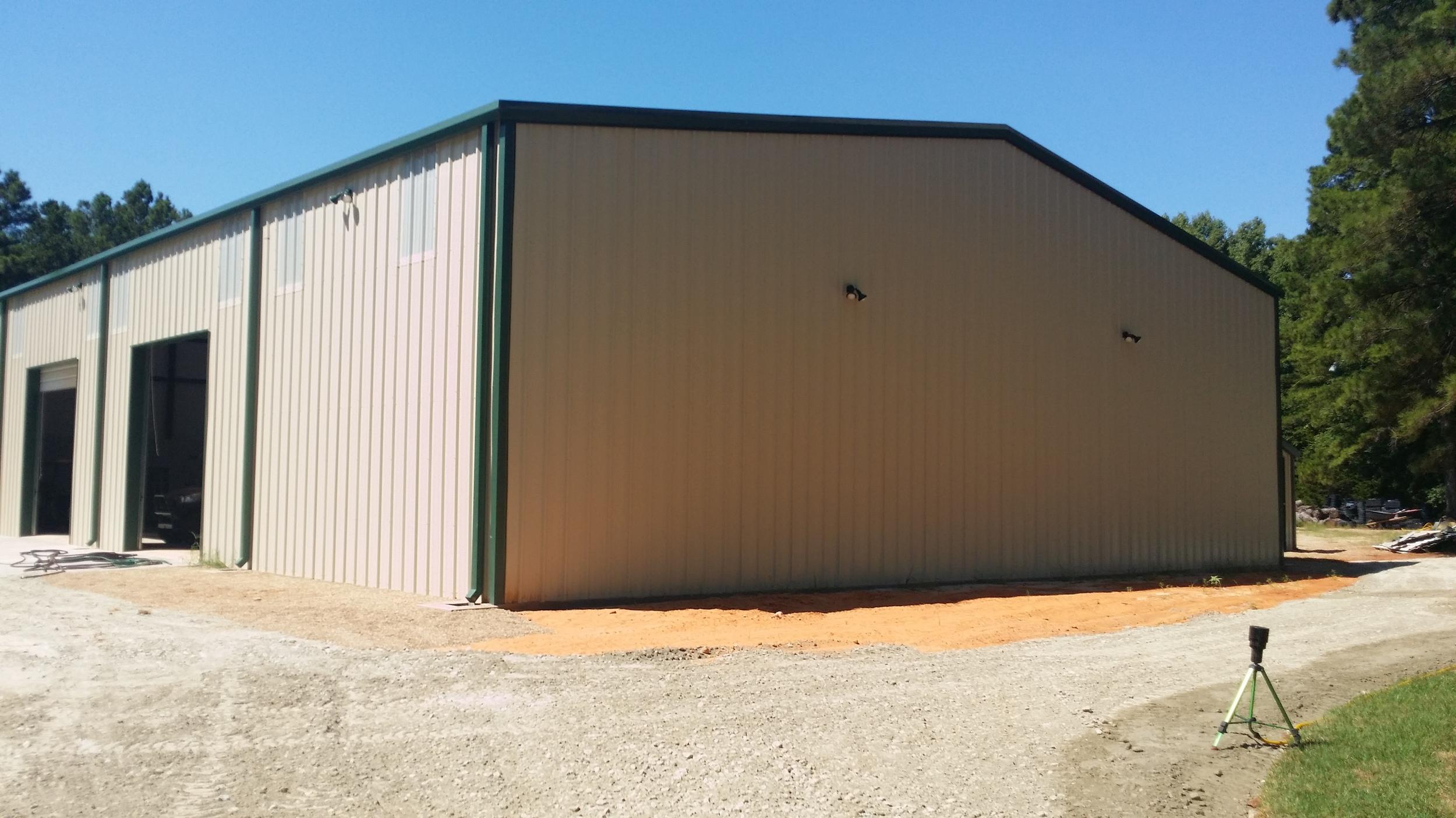 60 x 110 x 18 Metal Building