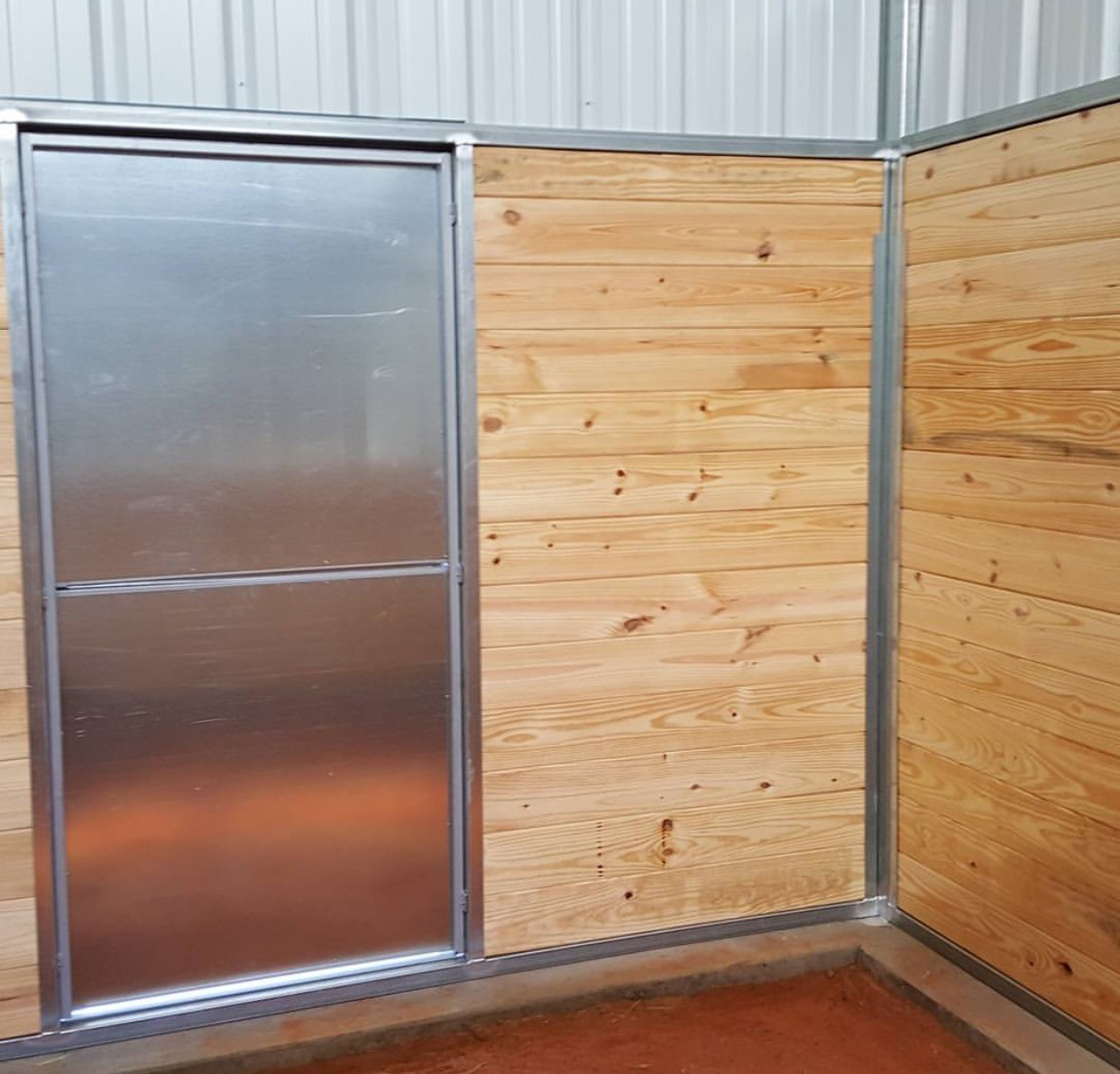 Dutch Door (from inside the stall)