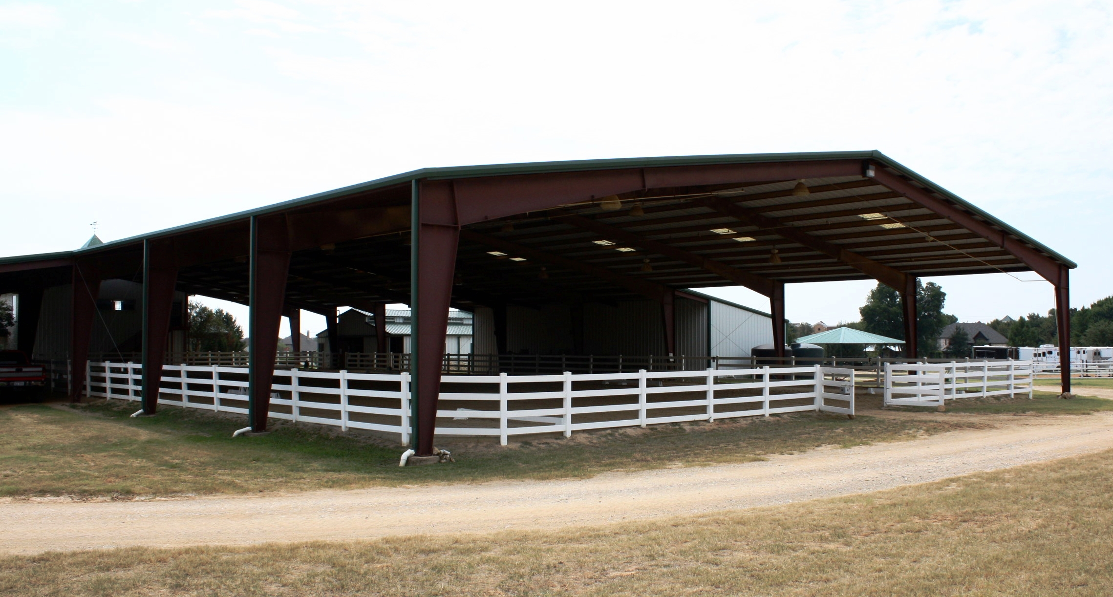Saddlebrook Equestrian Center, Arena