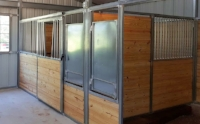 Horse Stall Divider Grill