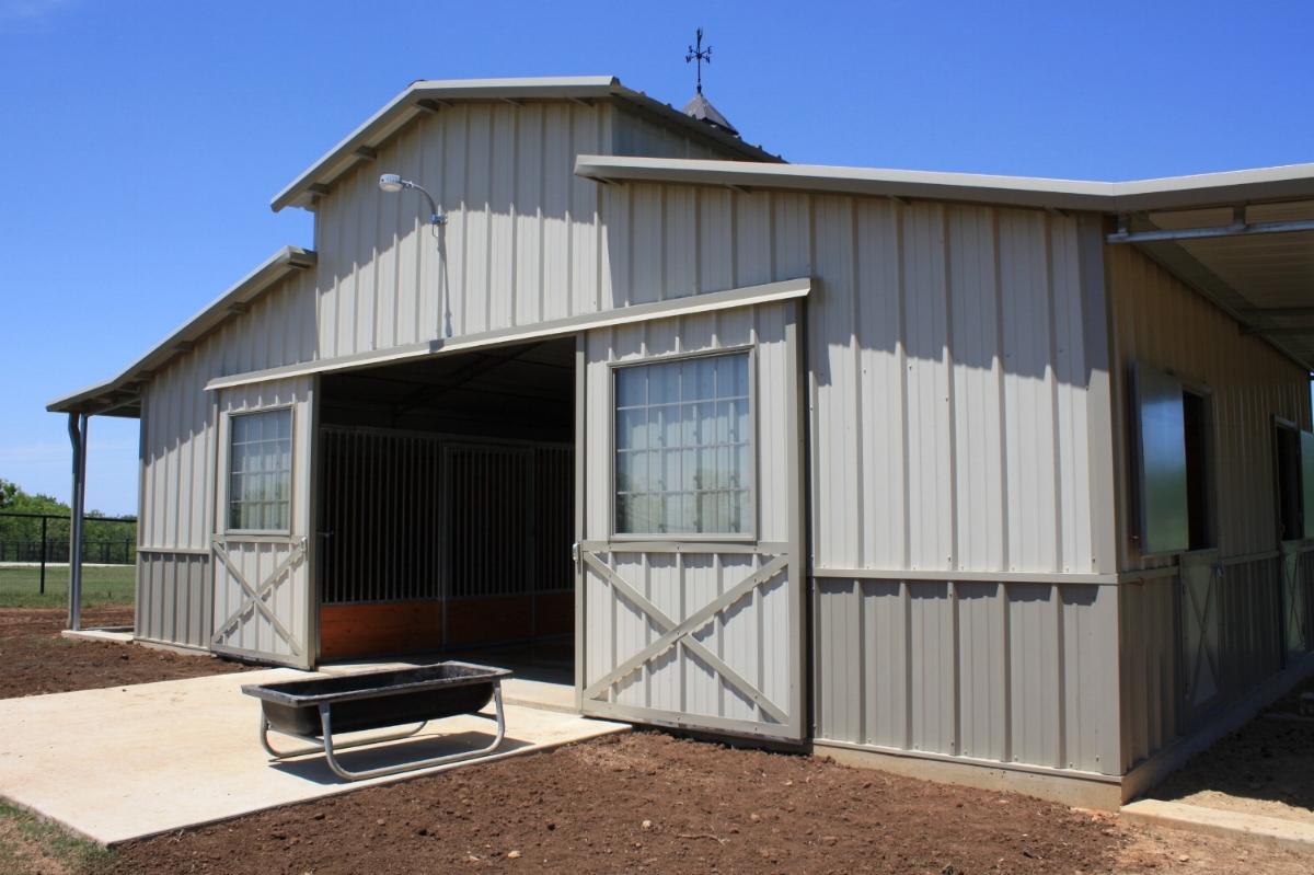 Steel Horse Barns