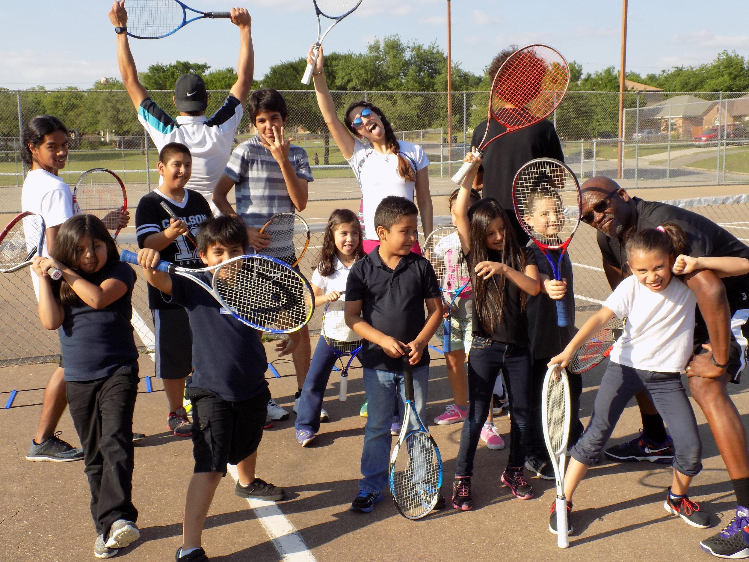 Register Your Child for Grand Slam Junior Tennis Academy -