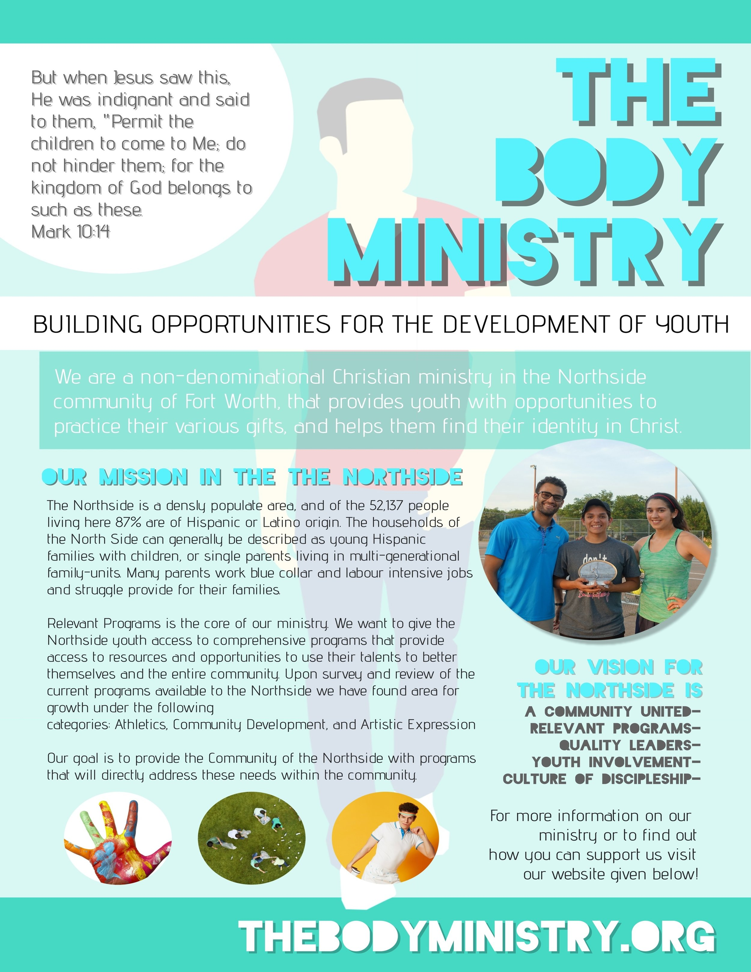 Help Us Spread the Word! - Click the button below to download our ministry promotional flyer, so you can print it, put it in your office and show it to everyone you know!