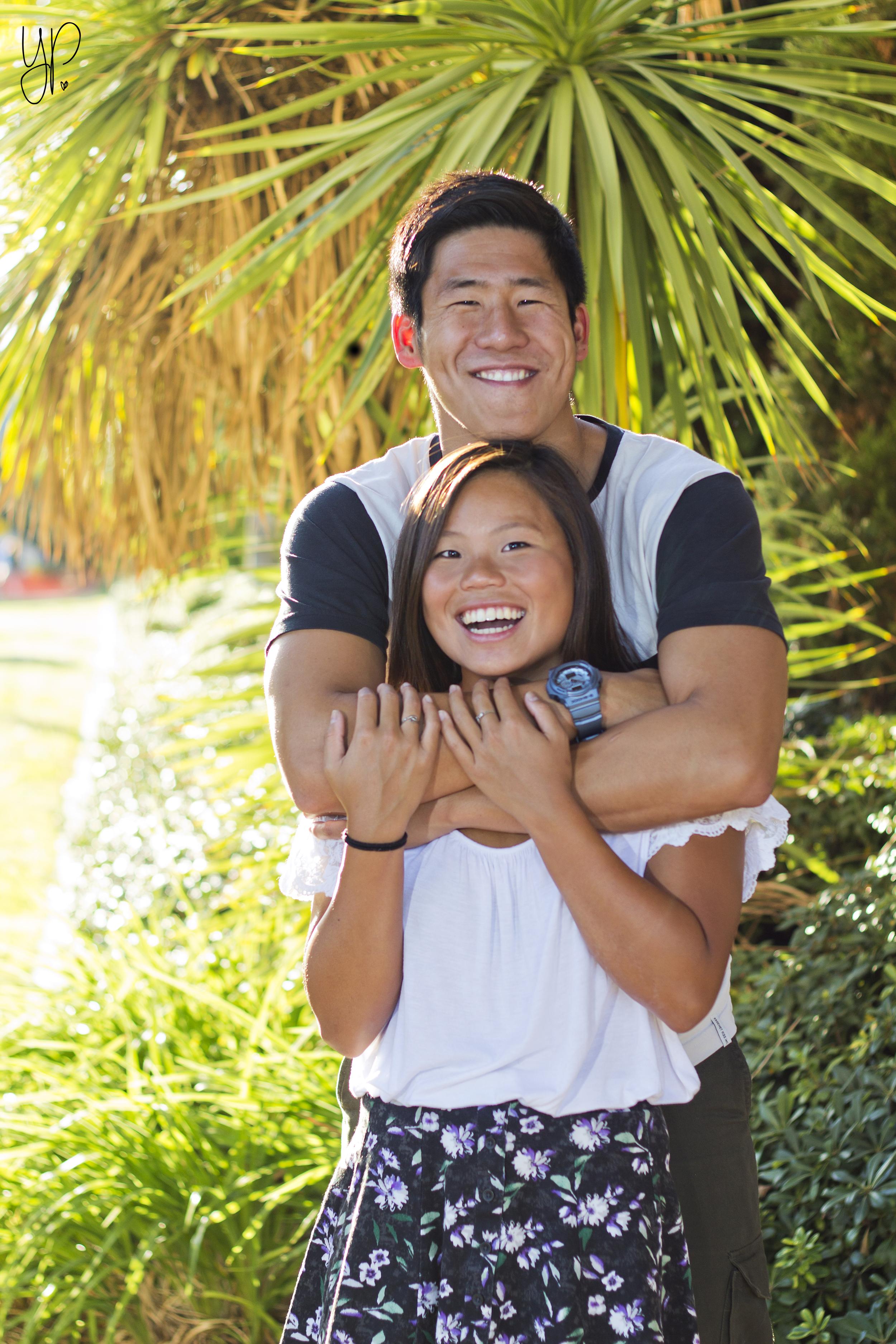 Catherine & AJ's shoot at Balboa Park