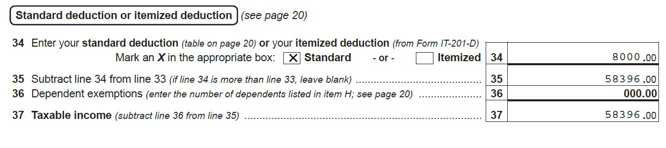 Taxable Income - Line 37>>>>>>>