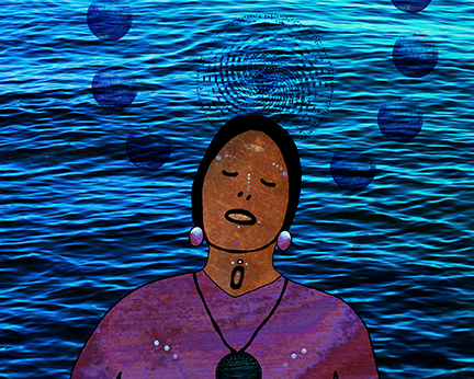 The Water Carries Her, She Carries the Water, 2016