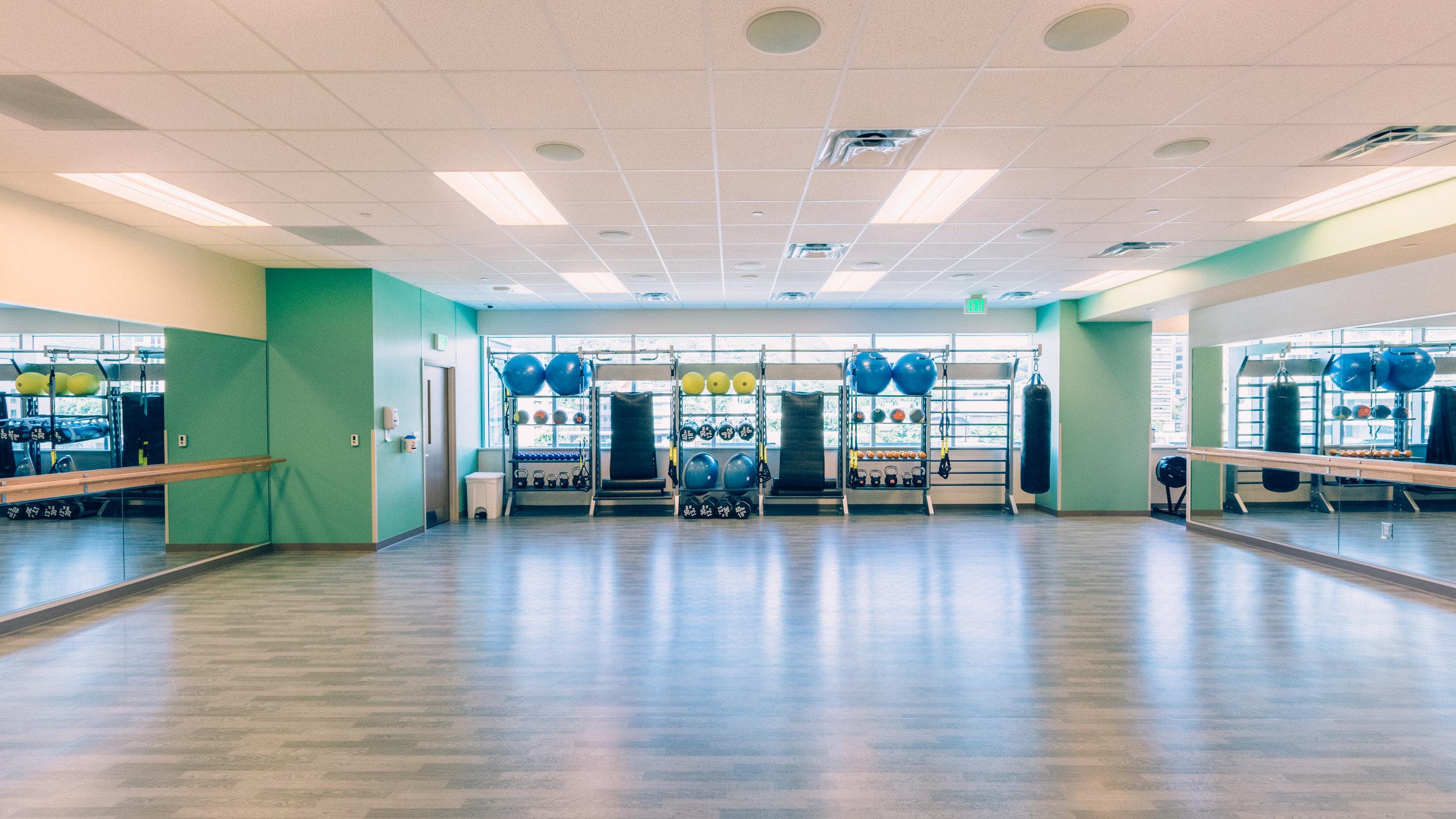 Fitness Center -