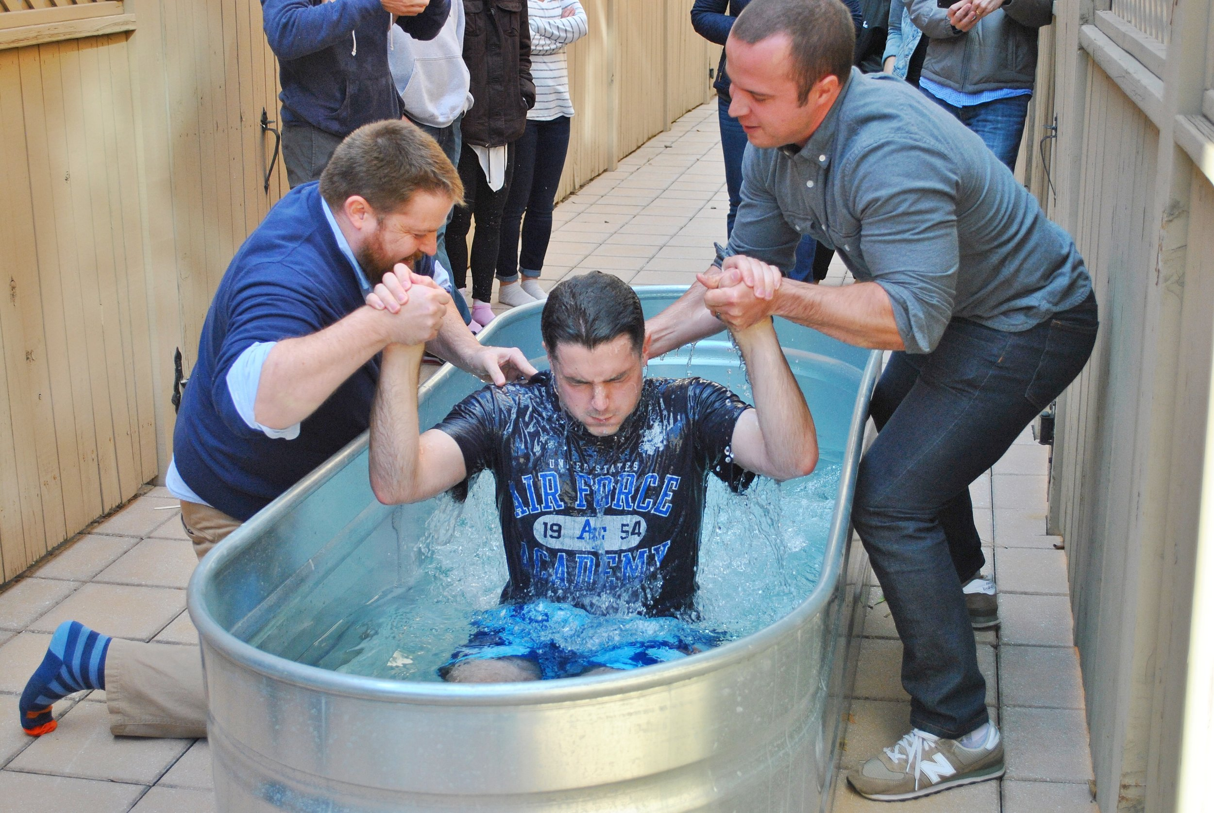 Kyle's Baptism