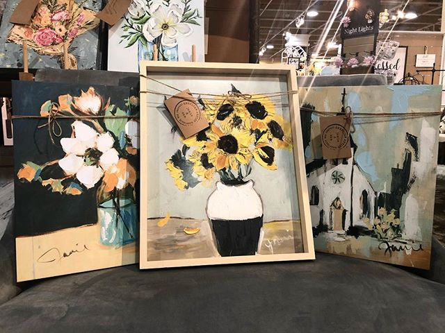 These three made it in to @kirklands nationwide! Exciting to see some work get dolled up and framed for people to see!