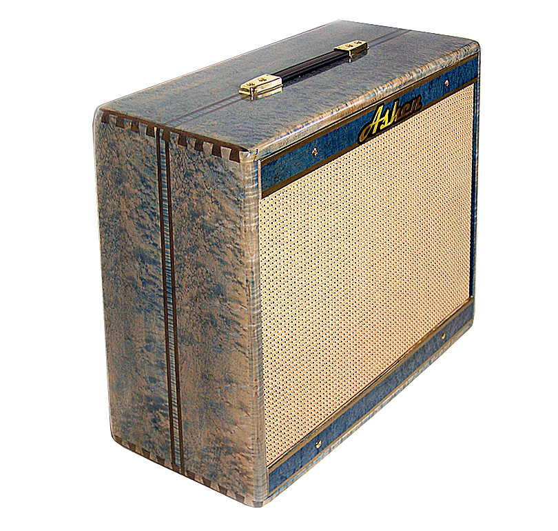 "Ashen ""Blue Bird"" 210 Custom Guitar Cabinet Cabinet - $649"