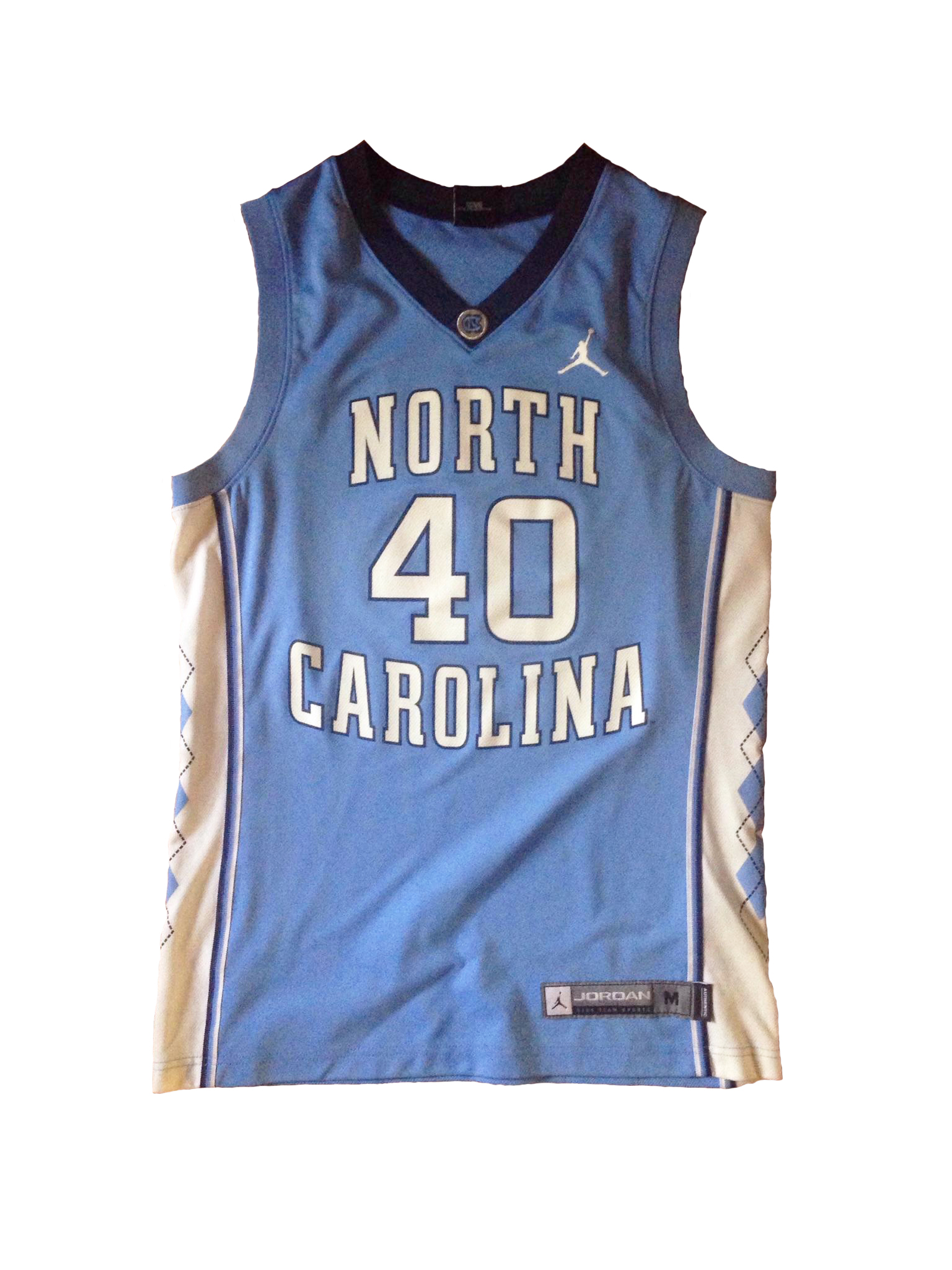 Anna's Lucky Jersey, the honored #40, once sported by late 90s/early 2000s shooting guard Joseph Forte and recent fan favorite Harrison Barnes