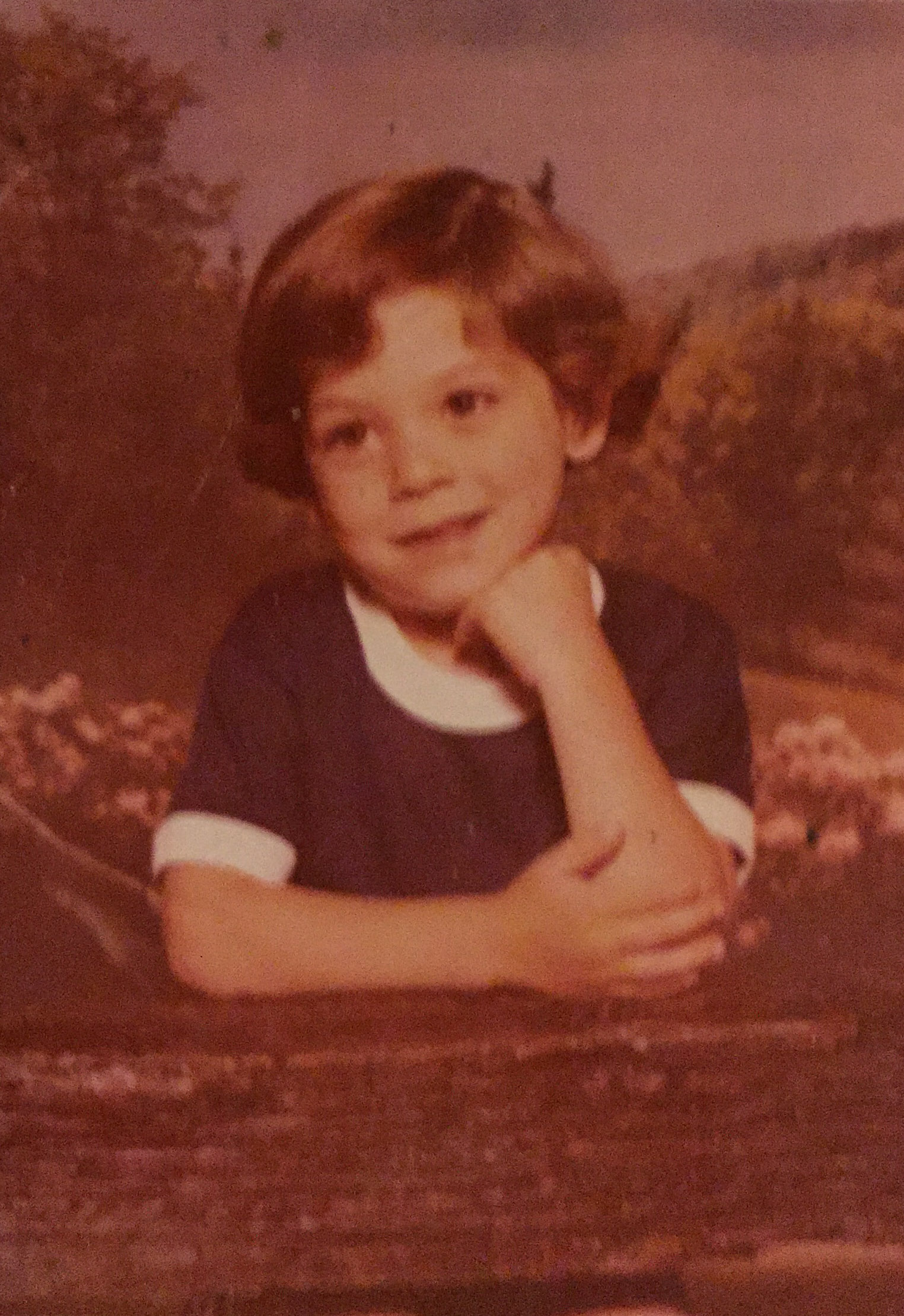 A young Stephen in Monroe, NY