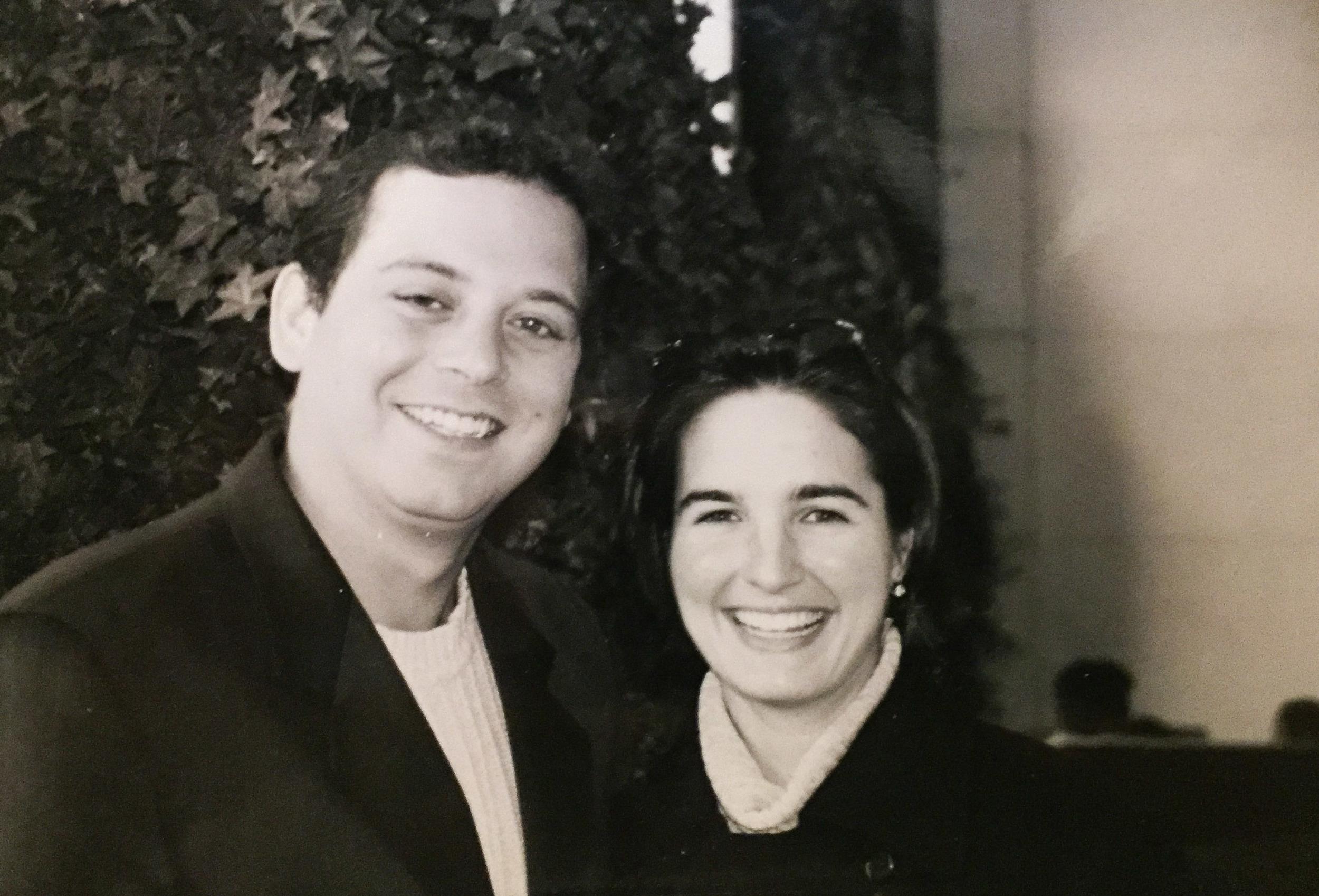 Inez and Stephen met in 2000.