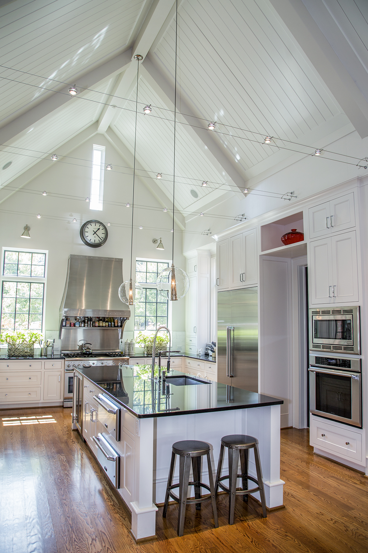 """The Point's kitchen won """"Room of the Year"""" in The National Association of Home Builder's 2012 Best in American Living Awards."""