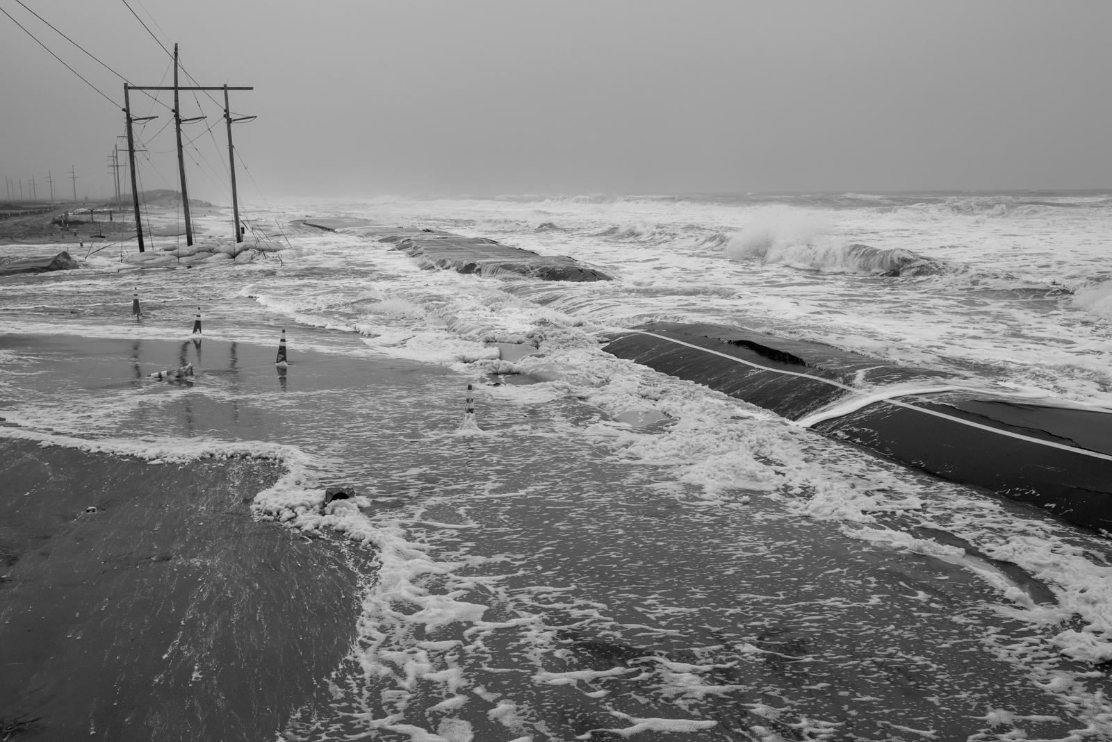 Mirlo Beach S-Turns, Hurricane Sandy, October 2012
