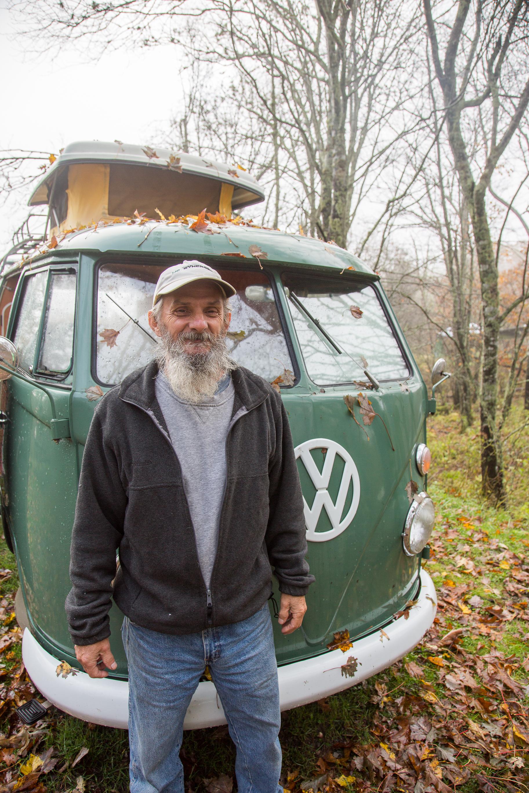 Former Volkswagen mechanic Mitch Davis