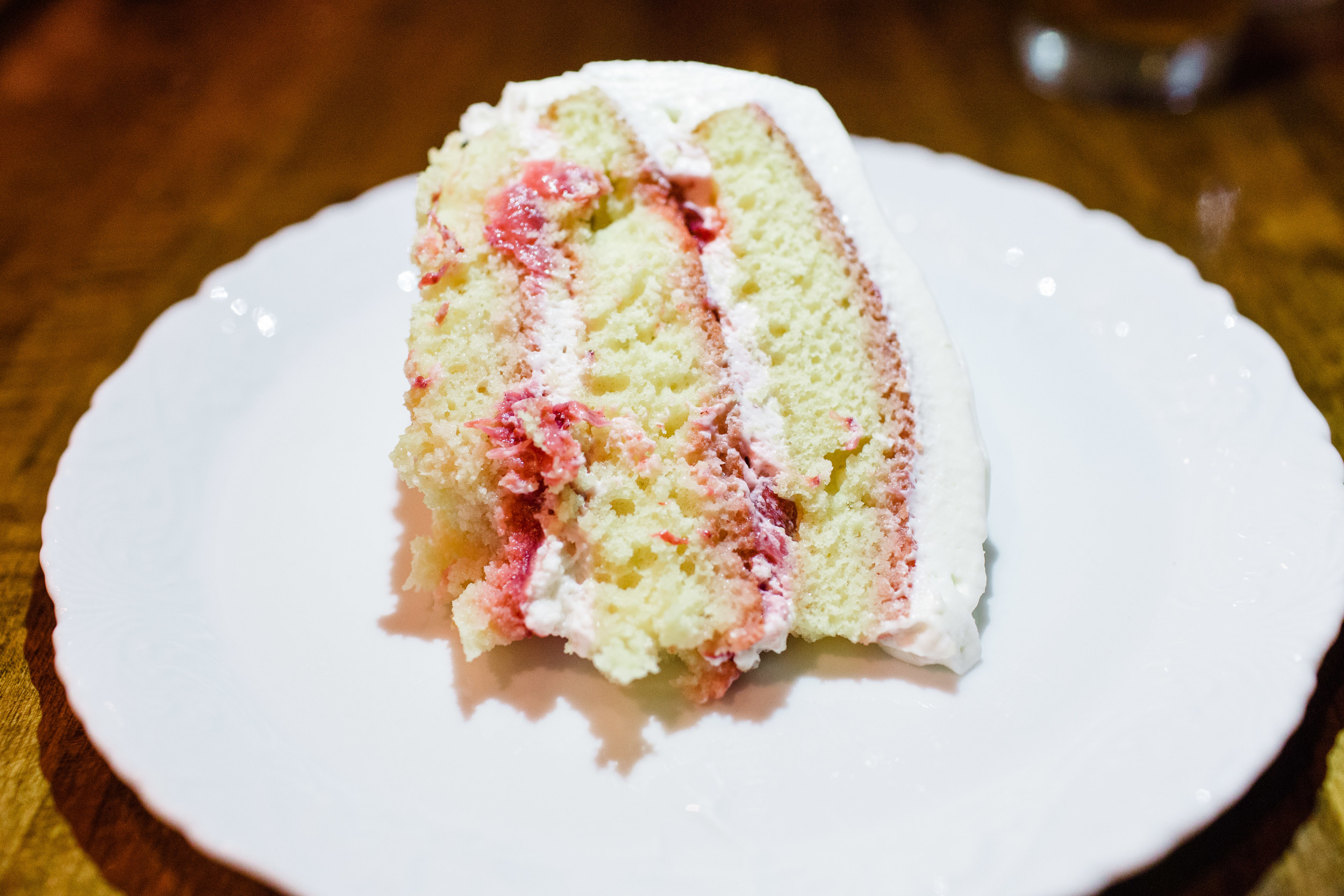Strawberry Cake from Executive Chef Ashley Moser's Mother