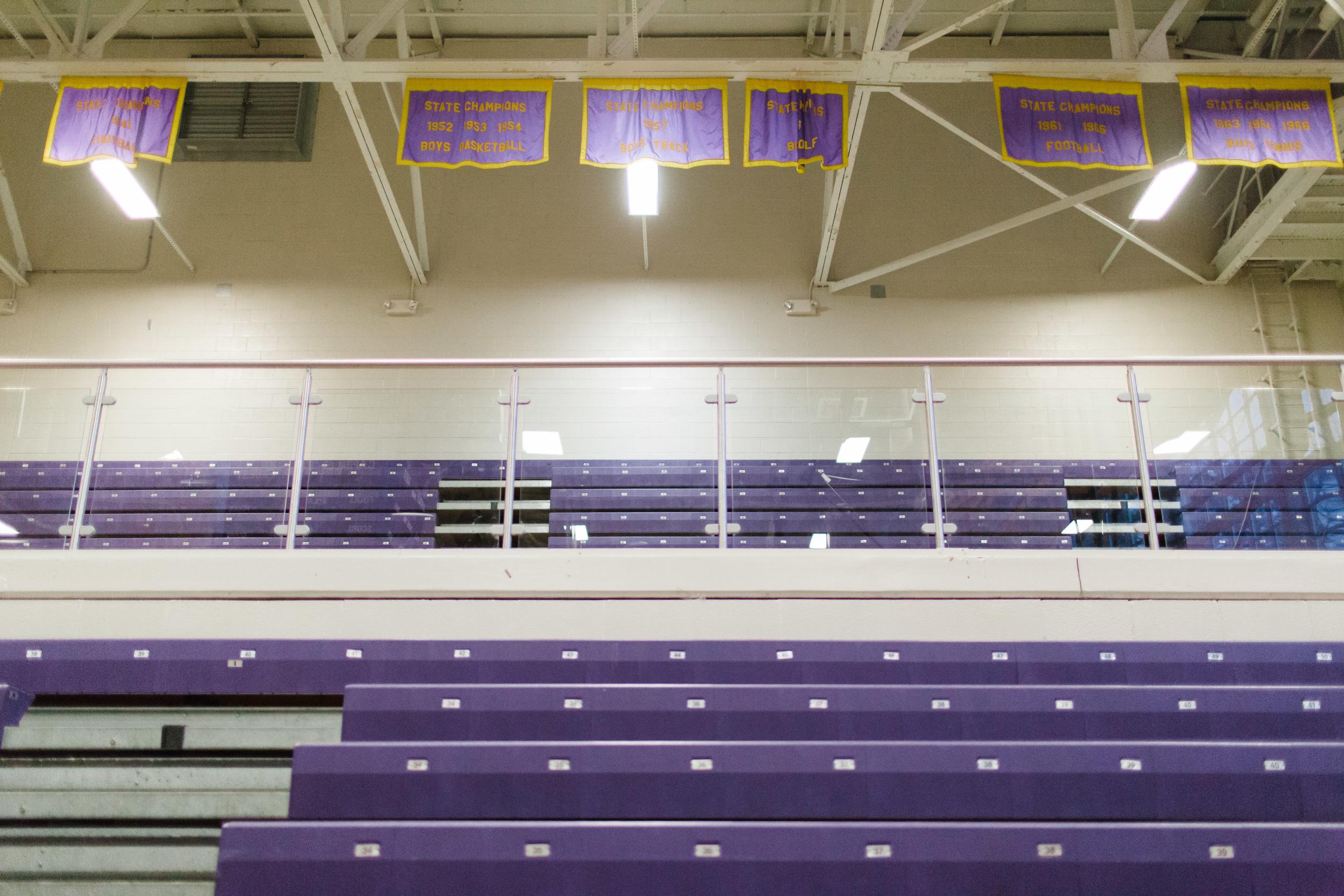 Holliday Gym Broughton High School