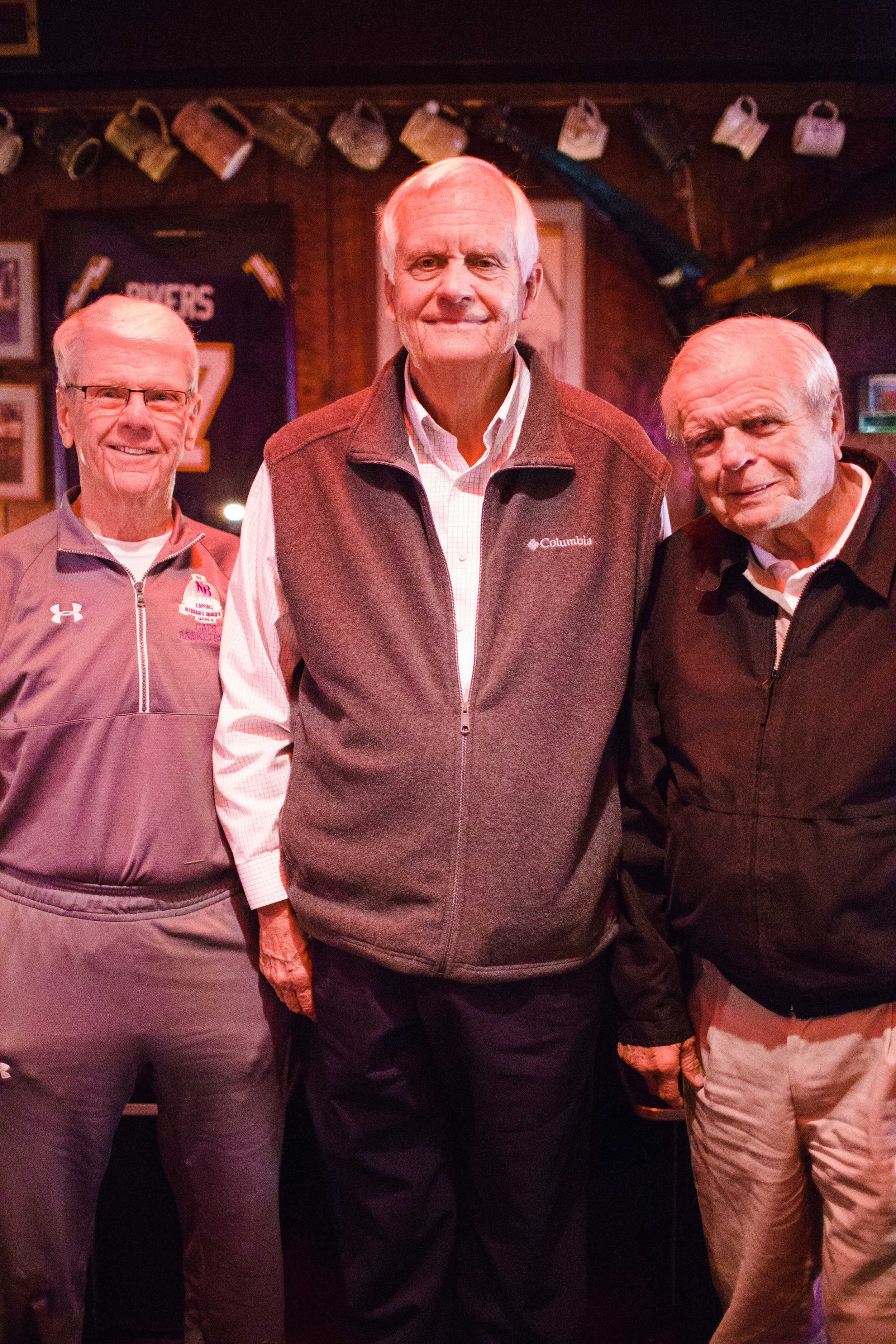 Frank Butler, Grey Poole & Jack Murdock at the Player's Retreat