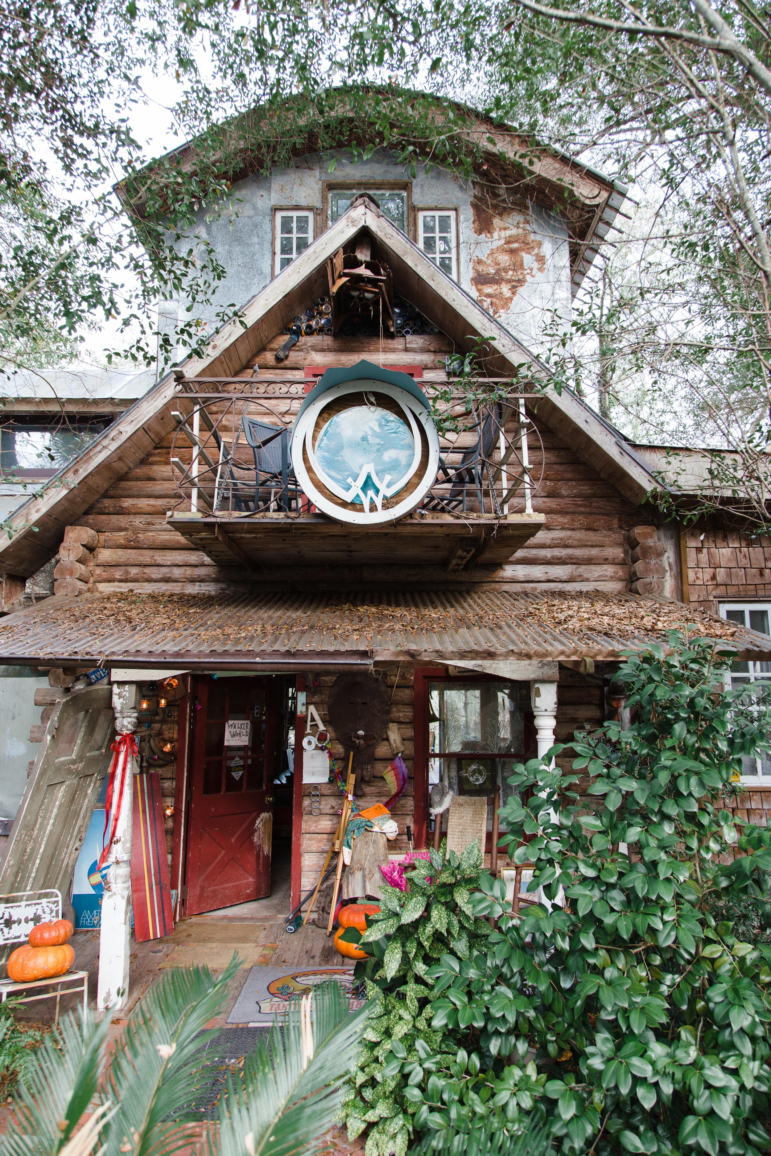 Walker World Organic Artist Retreat Castle Hayne North Carolina